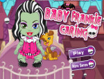 Baby Frankie Caring Monster high játék